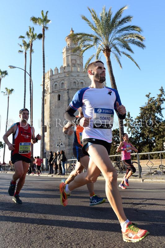 045 DAVID DE LA ROSA Zurich Maraton Sevilla 2015