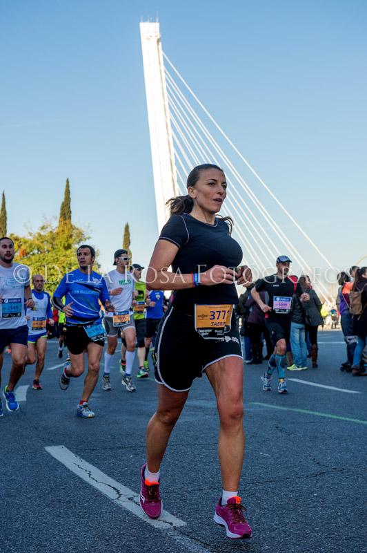 106 DAVID DE LA ROSA Zurich Maraton Sevilla 2015