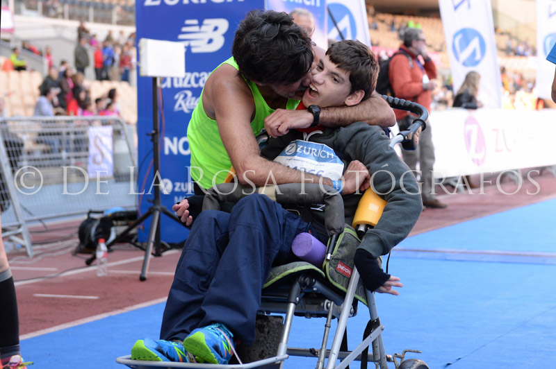556 DAVID DE LA ROSA Zurich Maraton Sevilla 2015